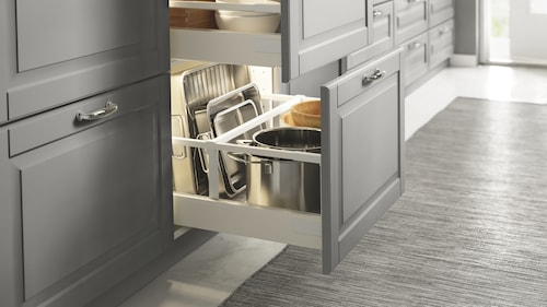 Shelves & drawers