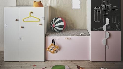 บานตู้และบานลิ้นชัก SMÅSTAD/สมวสตัด