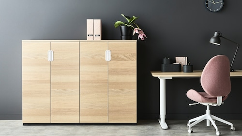Storage cabinets for office