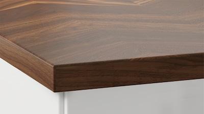 Thick veneer worktops