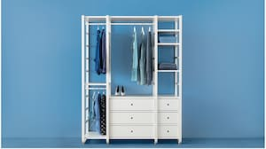 Shelving systems for clothes & shoes